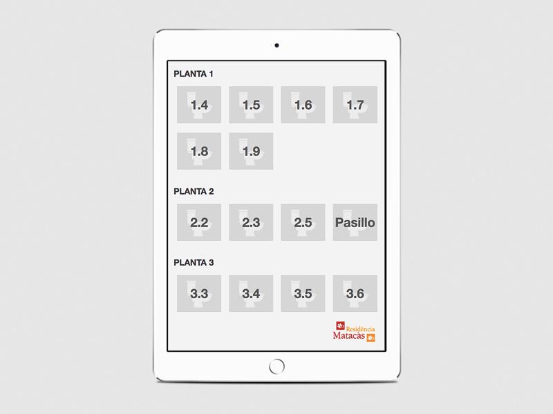 App development - Bathrooms Control