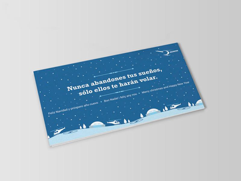 Corporate Image - Christmas Postcard
