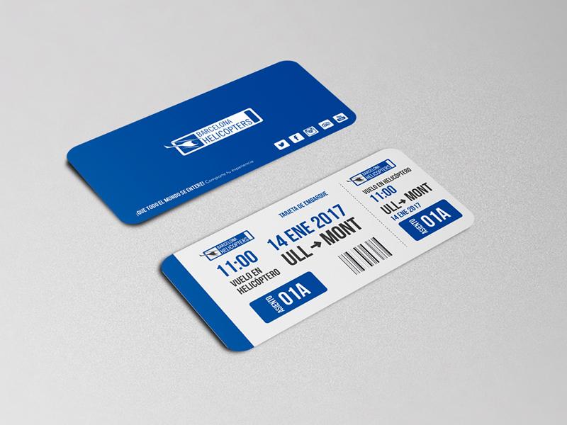 Corporate Image - Boarding pass