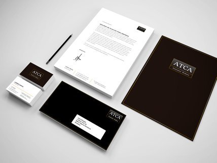 Identidad corporativa - Papeleria - ATCA Insurance Brokers