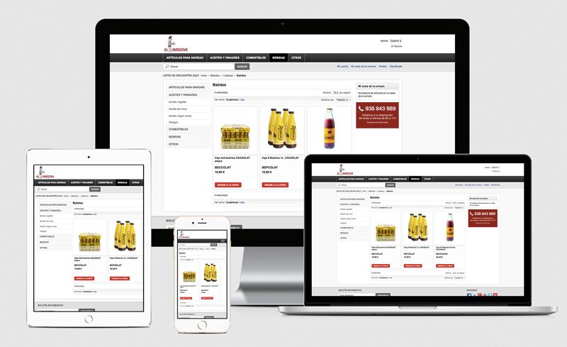 Diseño web - El Masove