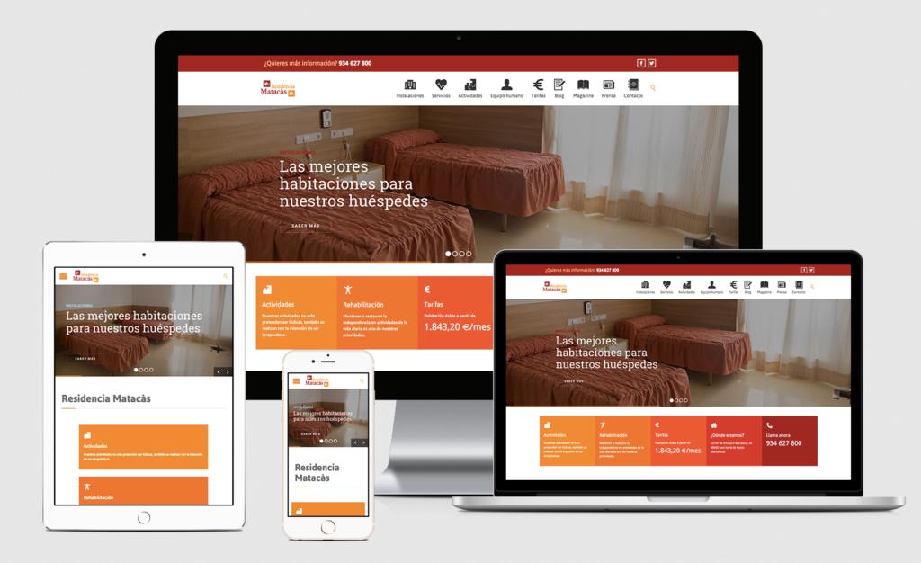 Diseño web - Residencia Matacas