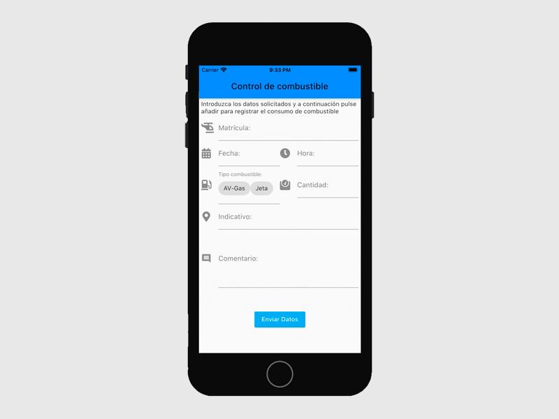 Creació App - Control Combustible